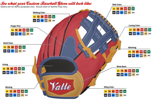 Design a Custom Baseball Glove