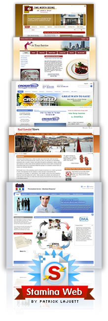 CMS Website Portfolio Stack