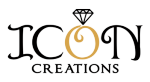 ICON custom jewelry logo