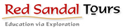 Red Sandal Tours Logo