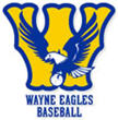 Wayne Eagles Baseball - logo design