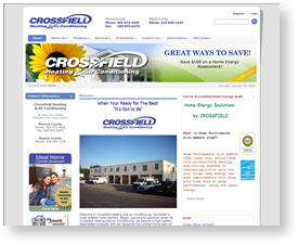 Crossfield Heating and Cooling