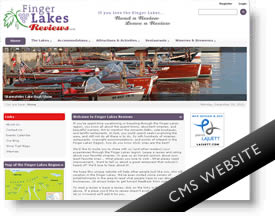 Finger Lakes Reviews - DNN Website Design