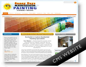 Sunny Days Painting - CMS Website