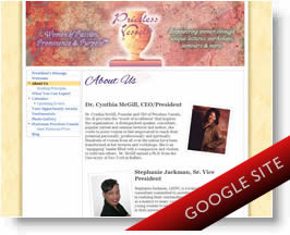 Priceless Vessels Google Sites