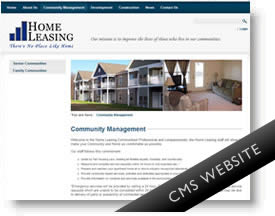 Home Leasing Web site