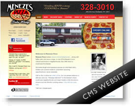 Pizza Shop Website DotNetNuke