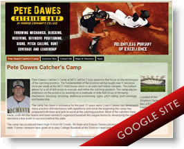 Pete Dawes Catching Camp Website