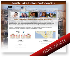 Custom Google Sites theme - Seattle Endodontist