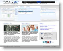 TimelyBill Website Design